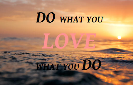dowhatyoulove-sunsetquote